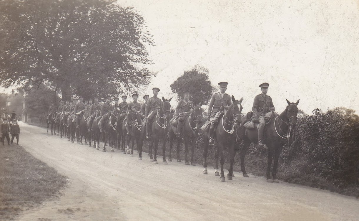 Kent Mounted Rifles Ashford Road, Tenterden - somewhere between 1900 and 1914