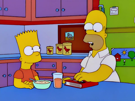 Los Simpsons 13x08 La agridulce Marge