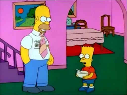Los Simpsons 1x06 La Depresion De Lisa