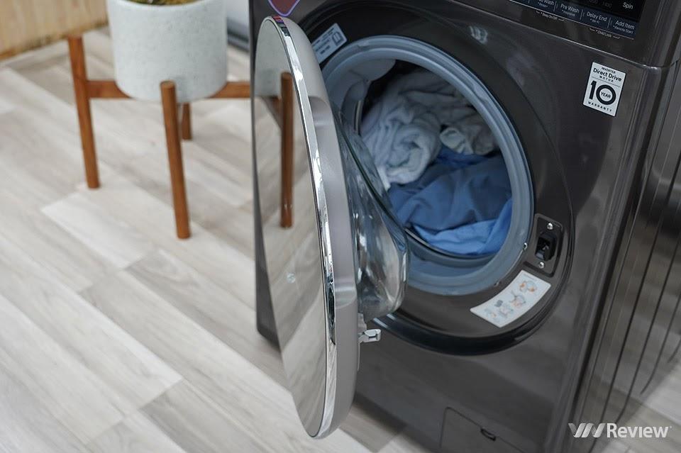 cửa máy giặt LG AI DD FV1450S2B