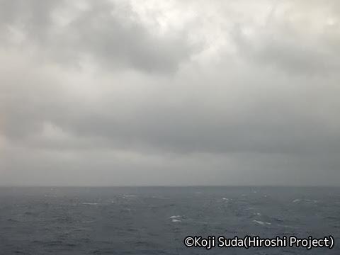 太平洋フェリー「きそ」 3日目 早朝