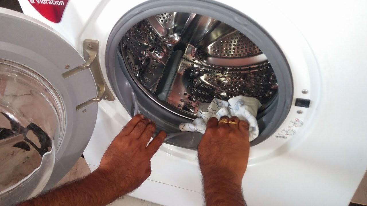 Một số lưu ý khi vệ sinh Gioăng máy giặt