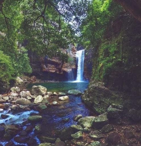 Dumbara Ella Waterfall