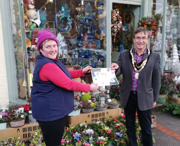 Christmas shop window competition launched