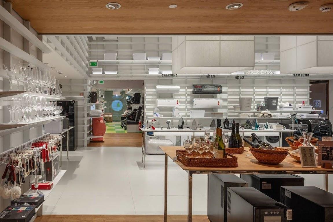 thiết kế showroom đồ gia dụng