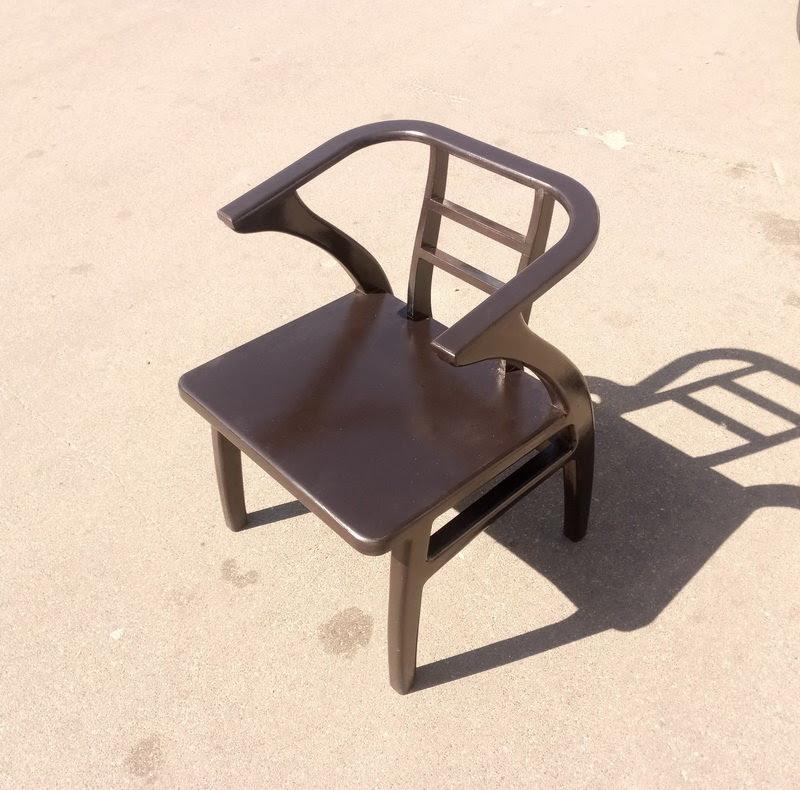 кресло из фанеры без мягкой части