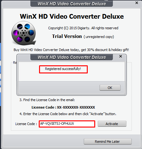 [Free Giveaway] Digiarty WinX HD Video Converter Deluxe v5.16.2 License Code
