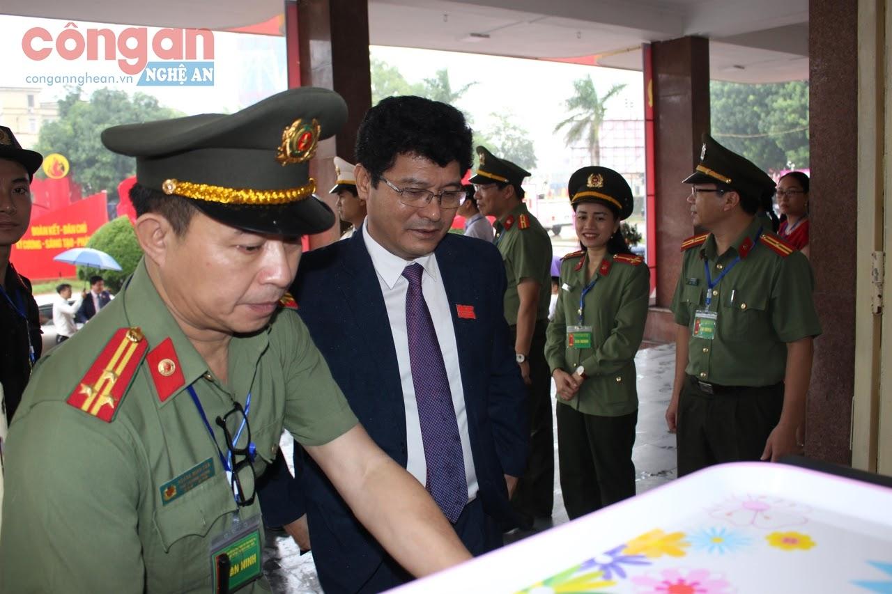 Lực lượng Công an tham gia bảo đảm ANTT Đại hội đại biểu Đảng bộ tỉnh             lần thứ XIX, nhiệm kỳ 2020 - 2025