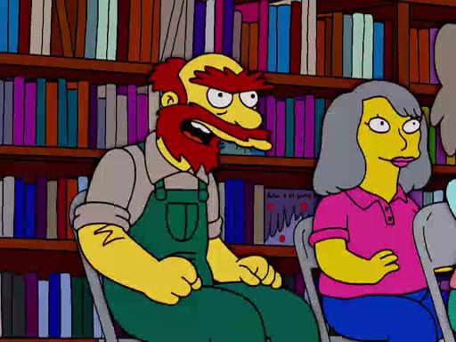 Los Simpsons 15x10 Sátira de un ama de casa fastidiada