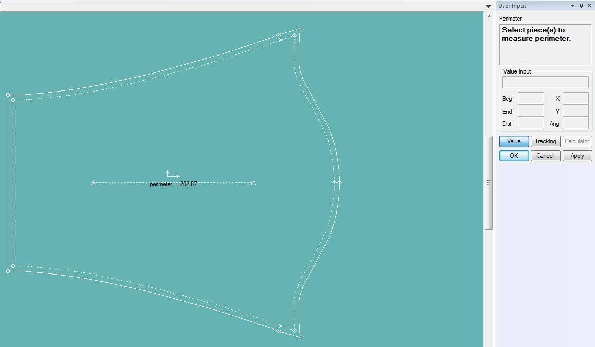 Gerber Pattern Design: Cách Sử Dụng Các Lệnh Đo Thông Số Measure 17