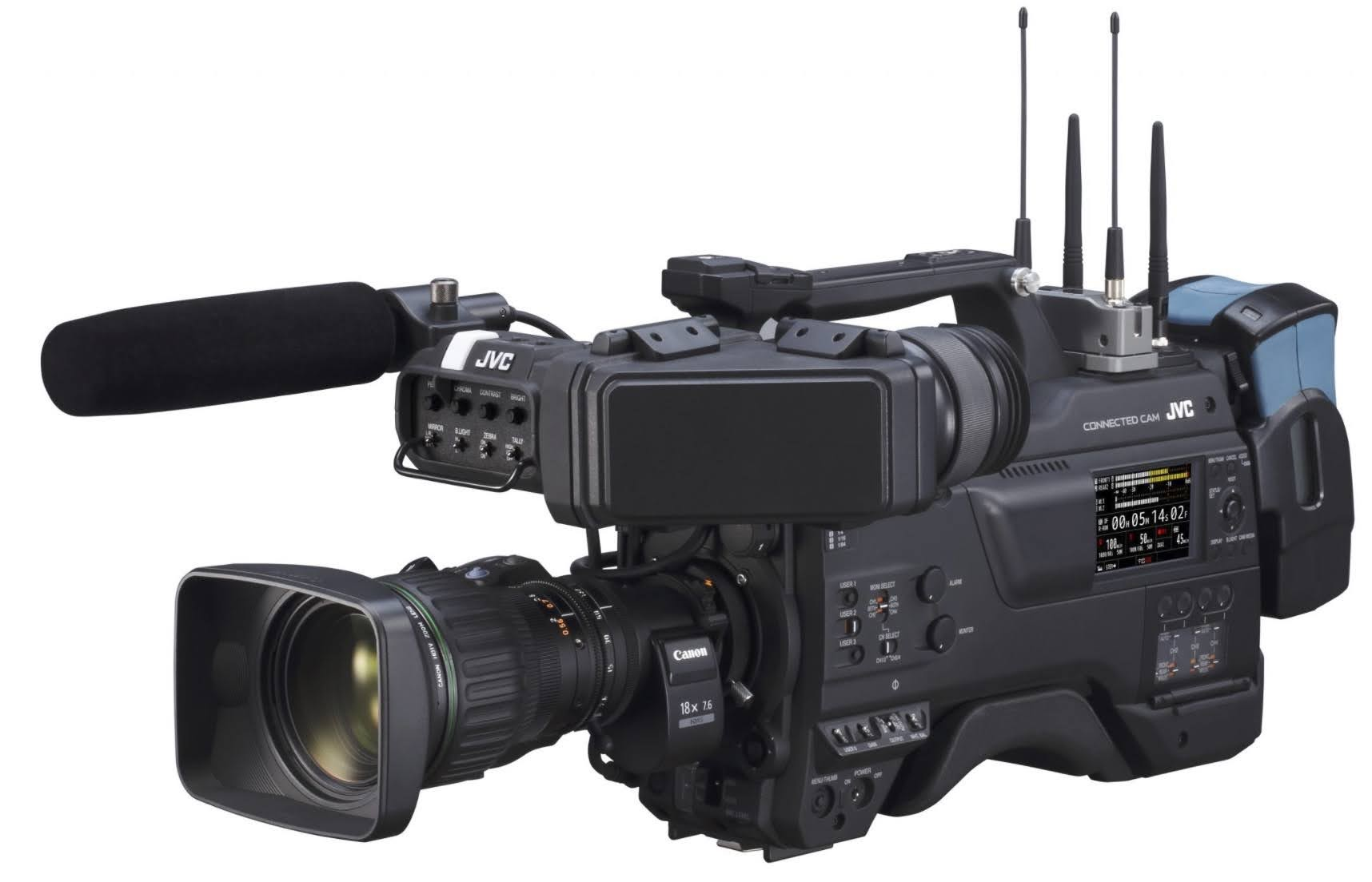JVC Professional Video Released SRT-Focused Firmware Update For CONNECTED CAM Camcorders
