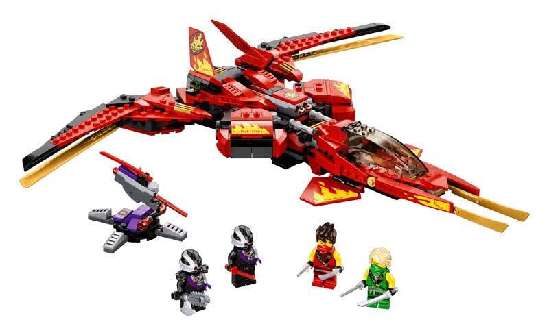 Contenido de Lego® 71704 Caza de Kai