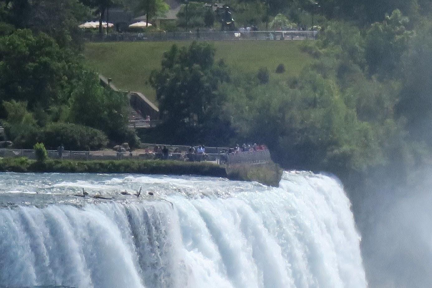 Ниагарские водопады в Августе 2020