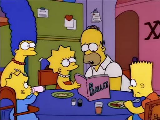 Los Simpsons 5x06 Marge la rebelde