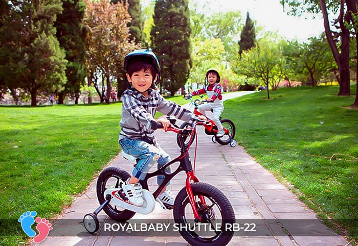 Xe đạp trẻ em Royal Baby Shuttle RB-B22 7