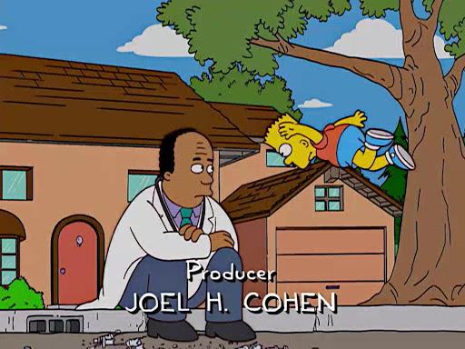 Los Simpsons 15x21 La bandera de Bart