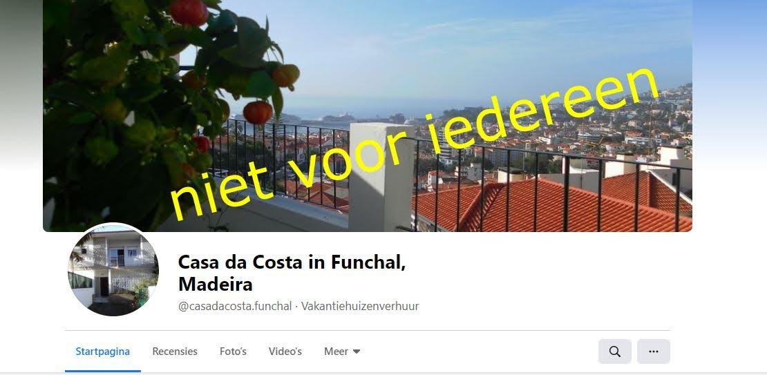 Casa da Costa. Niet voor iedereen. Discriminatie en religie op Madeira.