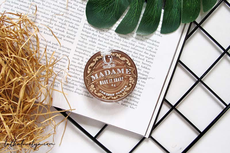Madame Gie make it sharp contouring powder expresso