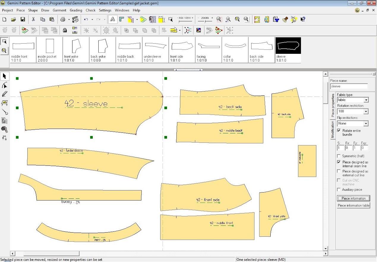 Gemini Pattern Editor Chức Năng Các Lệnh – Phần 2 1