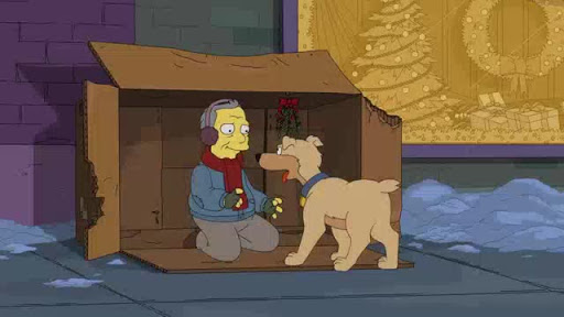 Los Simpsons 31x10  Bobby: It's Cold Outside