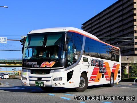 南海バス「サザンクロス」酒田線 ・406
