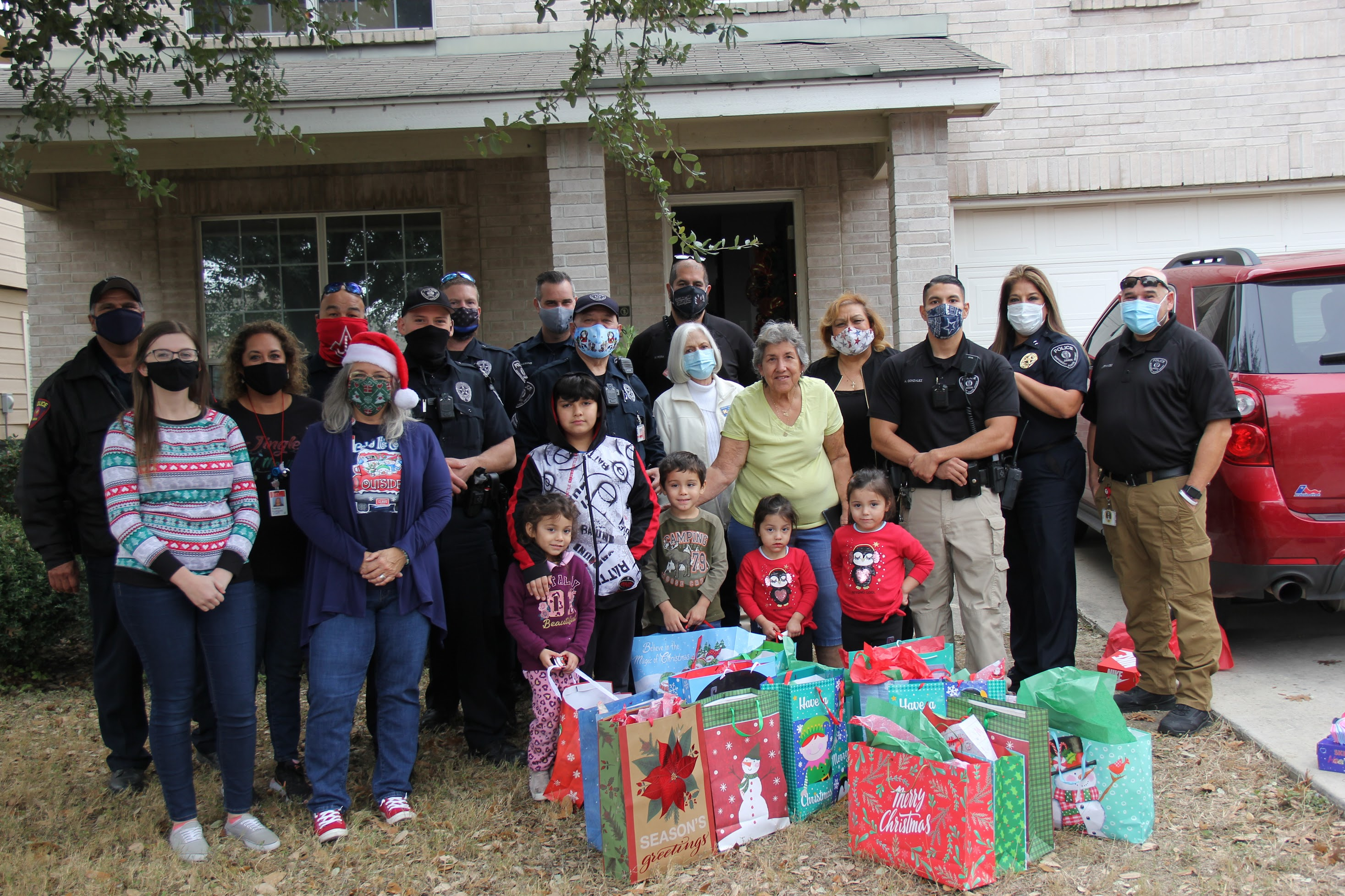 Judson ISD Police Department Gift Drop Off