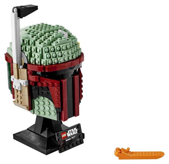 Contenido de Lego® 75276 Casco de Boba Fett™