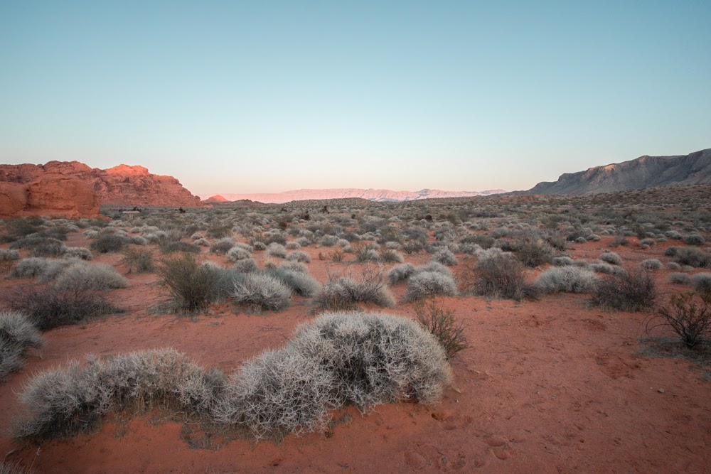 Valley of Fire sunset