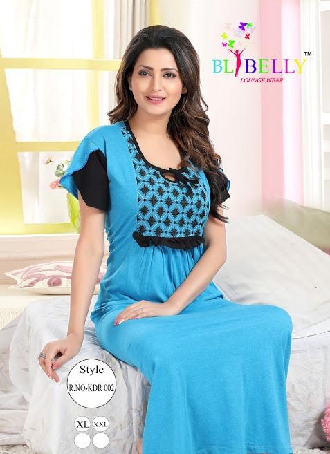 Fashion 171 Belly Designer Nighty Manufacturer Wholesaler