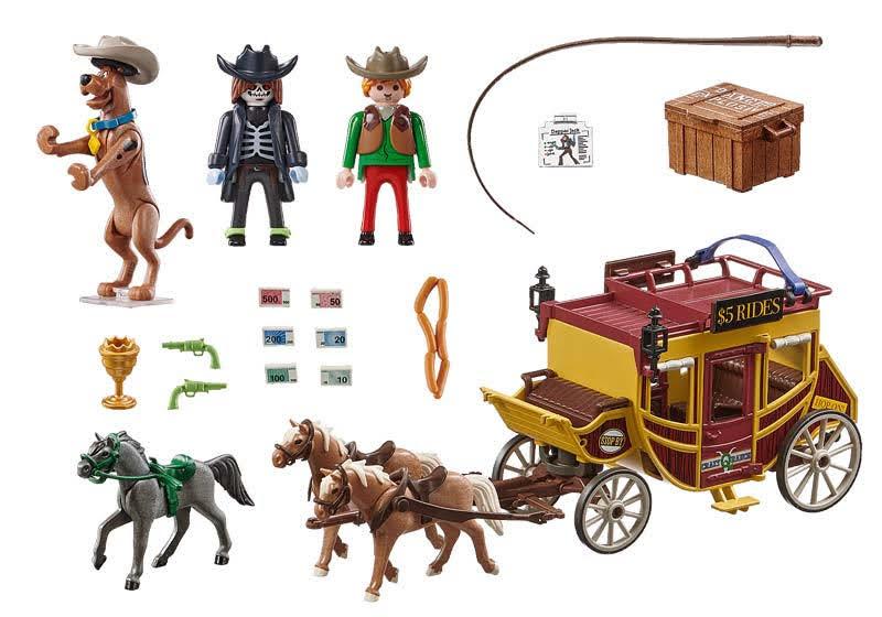 Contenido de Playmobil® 70364 Aventura en el Salvaje Oeste