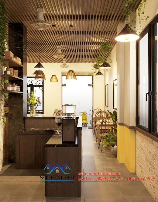 thiết kế quán cafe 30m2 hà nội