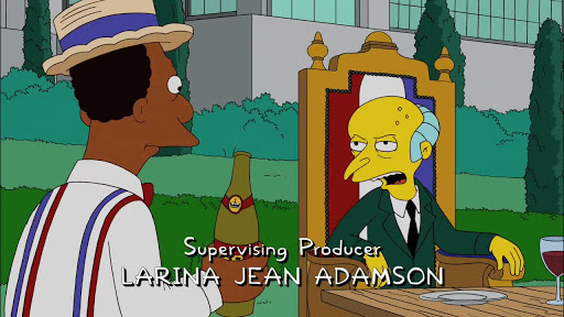 Los Simpsons 21x17 Historia Americana excelente