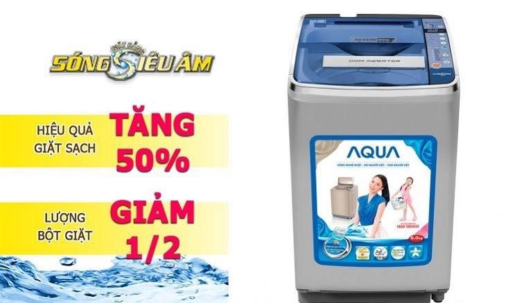 Công nghệ giặt siêu âm