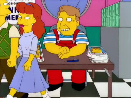 Los Simpsons 11x08 Llévate a mi esposa
