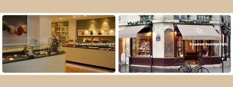 パリのパンオショコラ Laurent Duchêne ローラン・デュシェーヌ