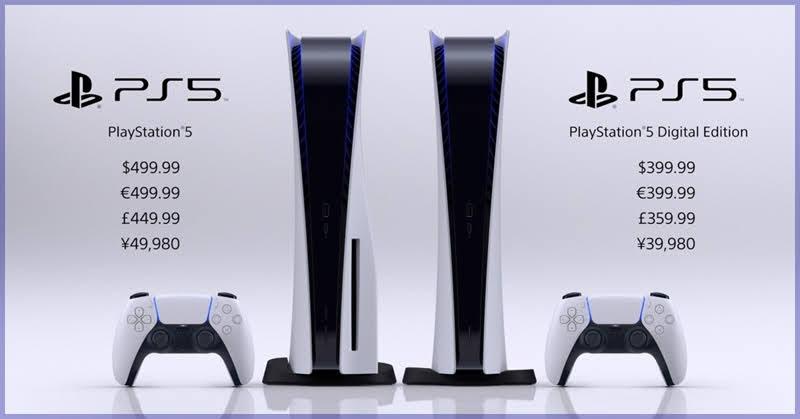 มาตามนัด! PlayStation 5 ประกาศวางจำหน่ายทั่วโลก 19 พฤศจิกายนนี้!