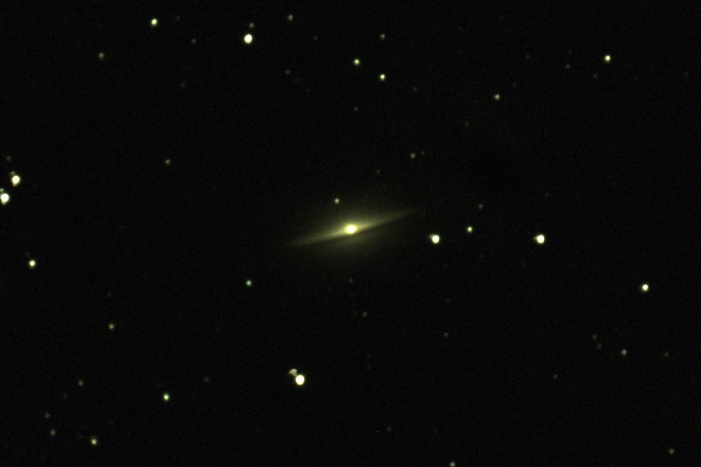 M104(NGC 4594): おとめ座のソンブレロ銀河(ASI294MC+MAK127)