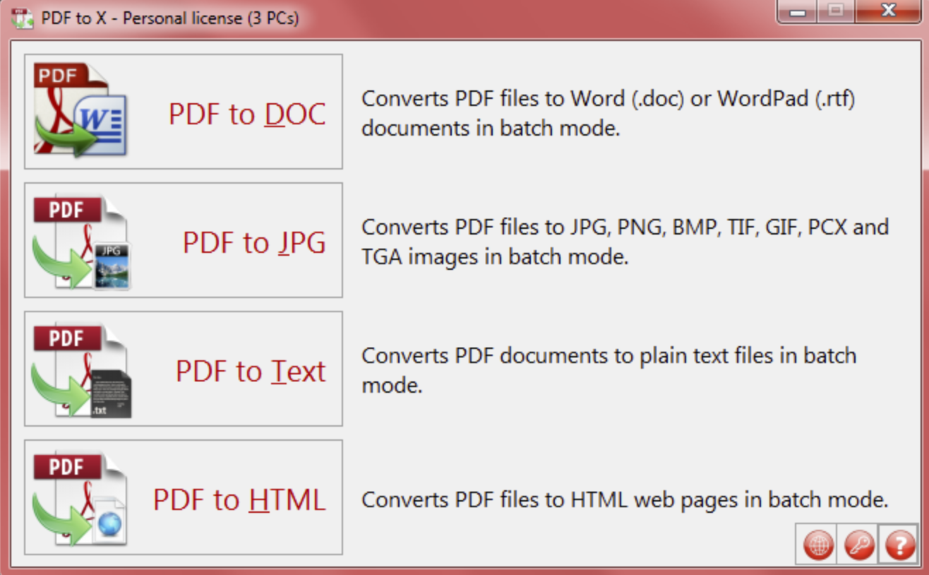 [Free Giveaway] TriSun Software PDF to X License Code - Batch Convert PDF to Multiple Document Format