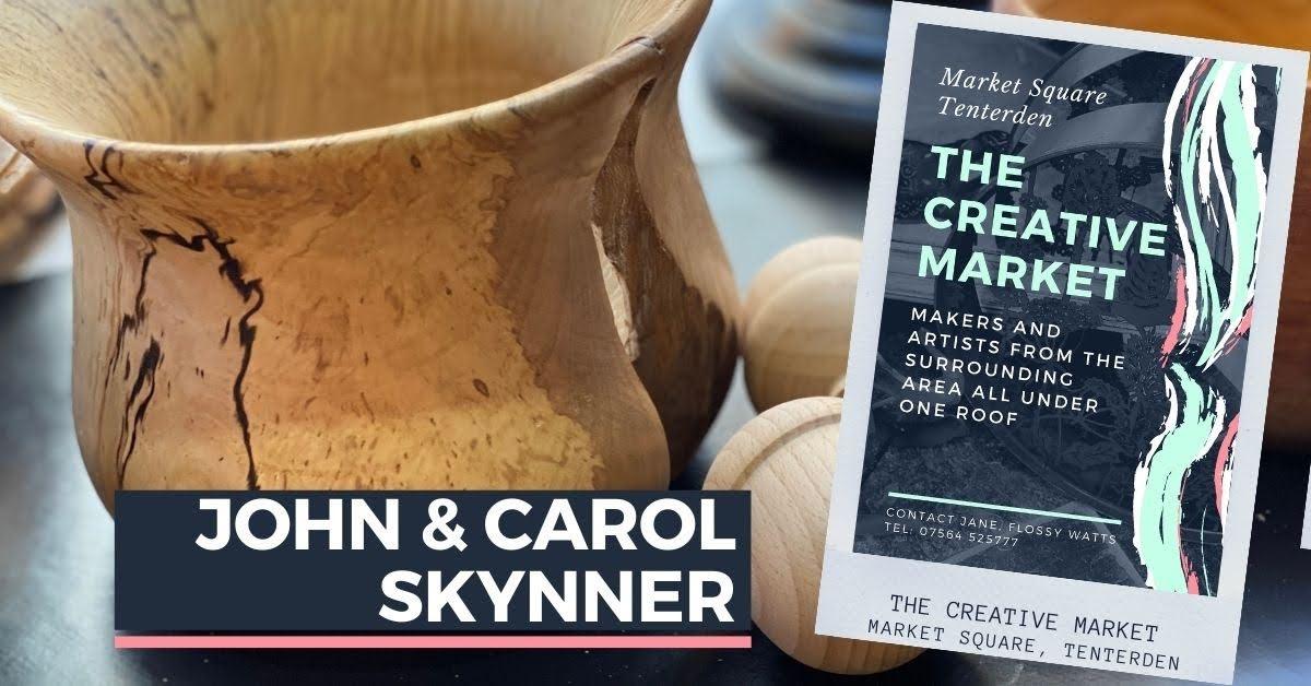 JOHN AND CAROL SKYNNER at Tenterden Creative Market