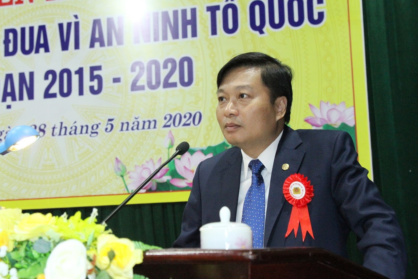 Đồng chí Lê Hồng Vinh, Ủy viên BTV Tỉnh ủy, Phó Chủ tịch thường trực UBND tỉnh phát biểu chỉ đạo tại Hội nghị