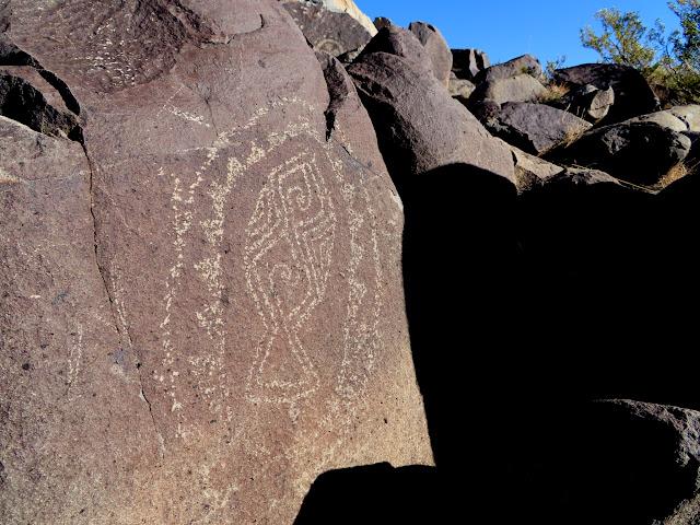 Fish petroglyph?