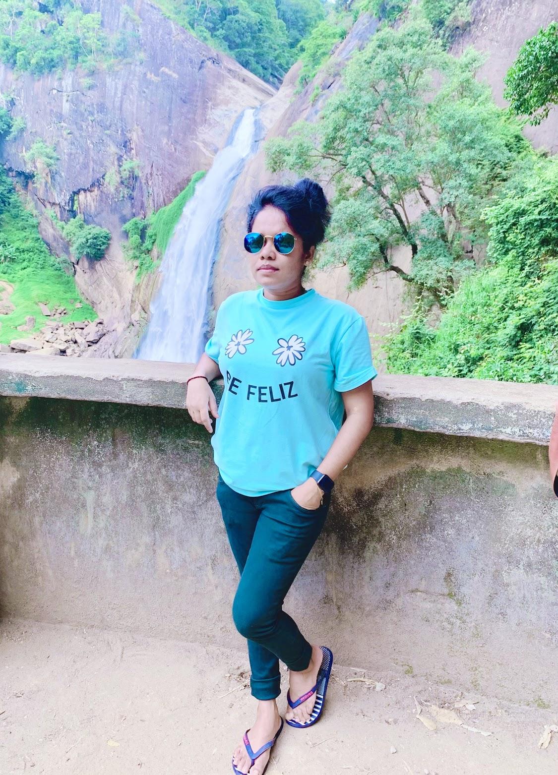 Dunhinda Falls