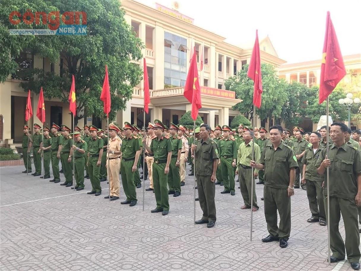 Công an huyện Quỳnh Lưu, tỉnh Nghệ An mở đợt cao điểm tấn công, trấn áp tội phạm,                      bảo vệ các sự kiện lớn của đất nước năm 2020