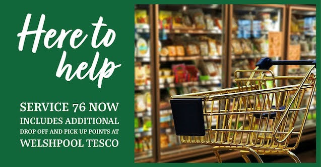 Supermarket stop added to No. 76 route