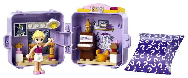 Contenido de LEGO® 41670 Cubo de Bailarina de Stephanie