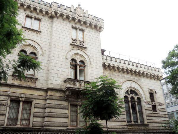 Monte di pietà - Catania - prospetto