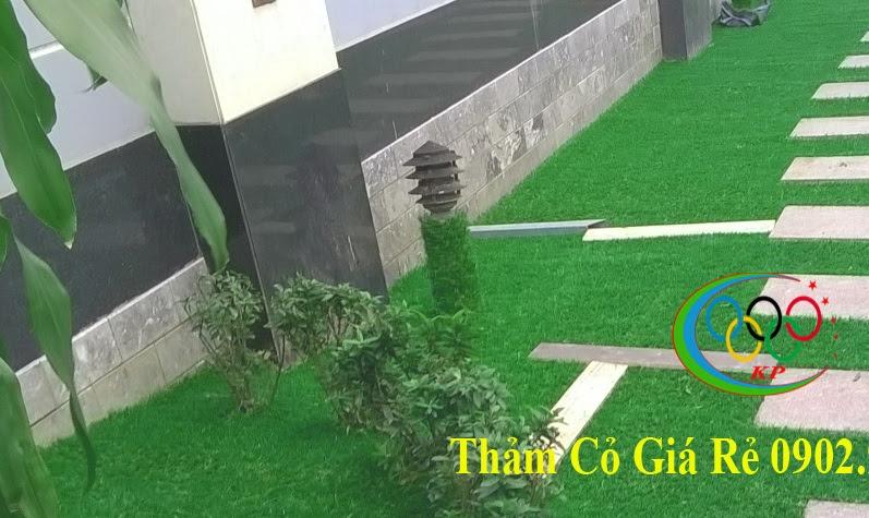 Bán các dịch vụ Thảm cỏ nhựa nhân tạo phong phú là Thảm nhựa PAP