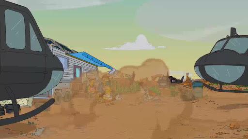 Los Simpsons 22x15 El cuento del escorpión