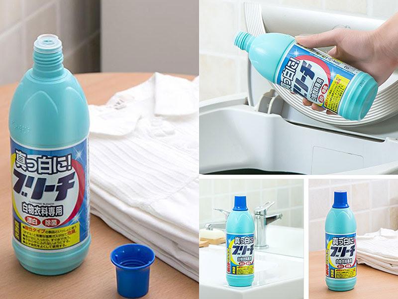 Lựa chọn chất tẩy rửa phù hợp với từng loại vải.