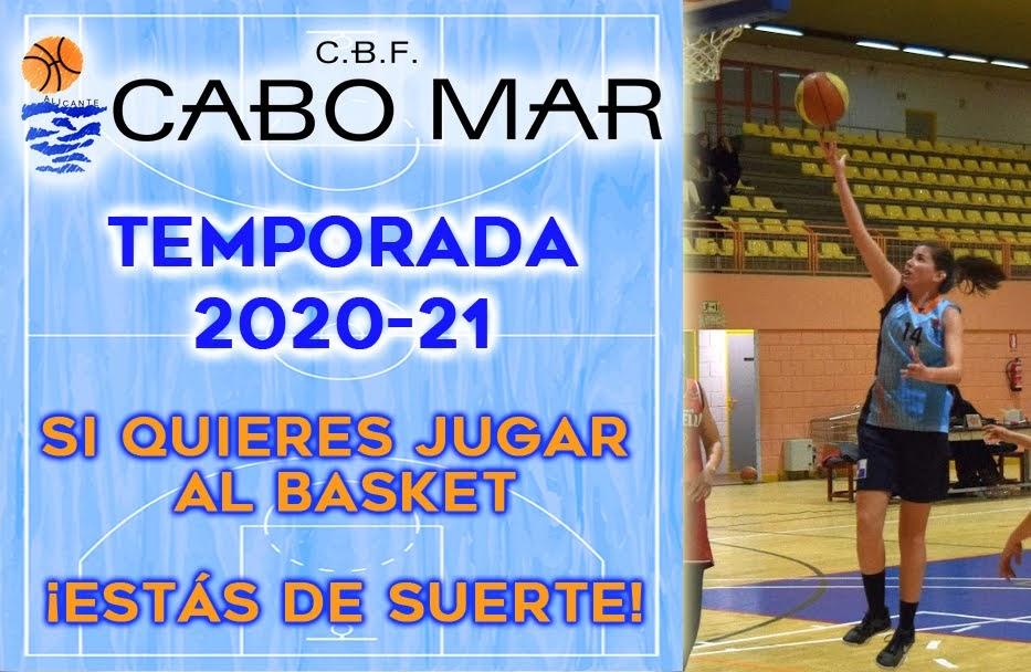 Si eres senior y quieres jugar al basket…ven a Cabo Mar